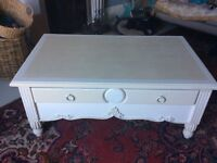 Shabby chic coffee/window table (SOLD) !!!!