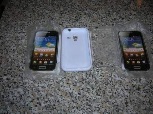 2 custodie per galaxy ace 7500 plus s 7500 nuovi...