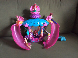 Disney mermaid play set & Disney favorite moment mermaid 7 pack
