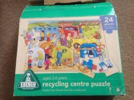 ELC Recycling floor puzzle