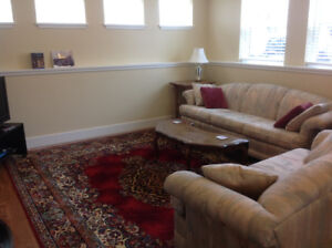 Spacious furnished legal suite desirable Fairfield/Gonzales