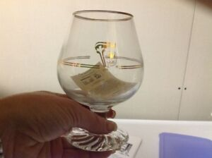 17 - 1988 Olympic Petro Canada brandy glasses