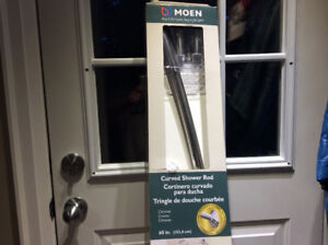 Moen Crome Curved Shower Curtain Rod