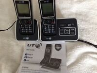 BT 6500 twin digital cordless phone with answering machine and call blocker