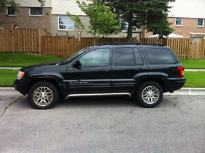 2004 Jeep Grand Cherokee limited/loaded SUV, Crossover