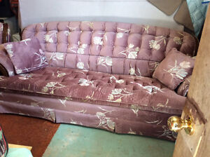 STURDY COUCH AND CHAIR  $300