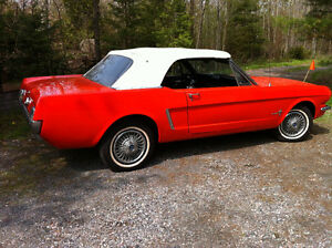 1965 Mustang convertible serious buyers only