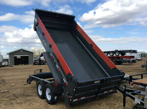 2017 Precision dump trailers. Professional grade! Built to last!