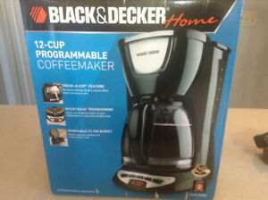 New coffee maker, new electric can opener, ,