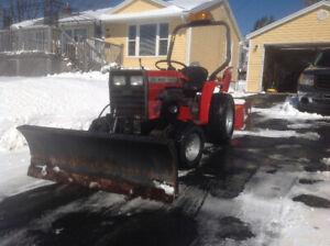 Massey ferguson snow blower  and lawn mower