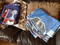 2 sets bedding single 1 football 1 Star Wars