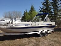 Princecraft deck boat for sale - NEW PHOTOS