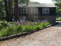 Scenic Country Loft w heat pool, waterfront, all utilities incl