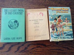 Bobbsey Twins/Cherry Ames/Trixie Beldon books  circa 1907-1968