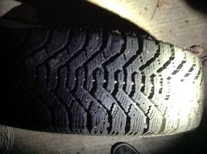 Winter tire and rims Kitchener / Waterloo Kitchener Area image 3