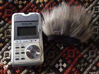 Tascam Stereo portable digital recorder