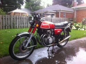 Looking for Honda CB 350 four parts