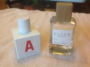 Clean Reserve and Aldo Eau de Parfumes
