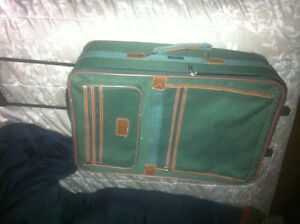 Green Large Suitcase