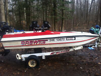 1985 Grew Cub Race Boat and Trailer