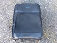 Black pull along suitcase