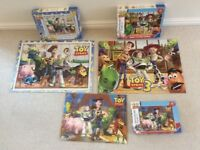 3 Complete Toy Story Jigsaw Puzzles