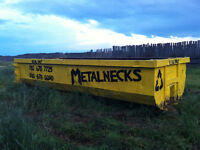 Rolloff Dumpster and Bin Rental Service, Scrap Metal, Garbage