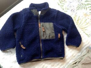 Boys fleece zip jacket 3T