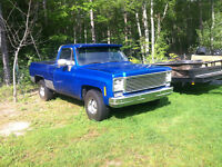 1975 Chevy Truck short box