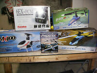 3 helicoptere teleguider et simulateur