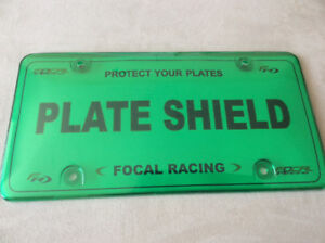 License PLATE Covers- SHOW Plates also available in 6 Colours