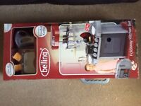 Belling foldaway toy kitchen - Brand New 20 accessories