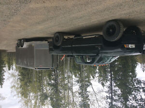 going to and from Vancouver with a HD 17ft enclosed trailer