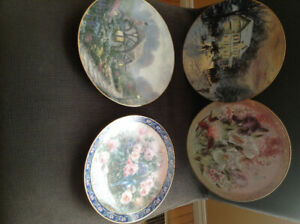 Decorative, collector plates