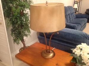 Lampe metal vintage