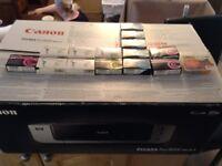 Pixma Pro9000 mark 2 printer plus inks