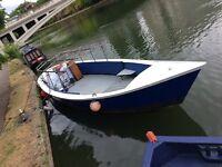 Boat passenger/work/day multipurpose vessel. Business opportunity