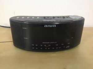 Aiwa VINTAGE Radio Receiver / Alarm Clock with Display Sensor