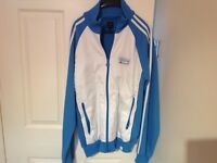 Mens genuine adidas tracksuit top