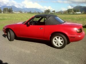 classic 1990 Miata all original