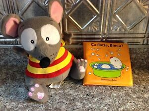 Toopy Plush with French Book