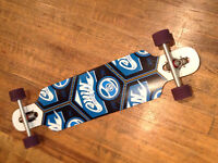 Barely used Sector 9 deck longboard