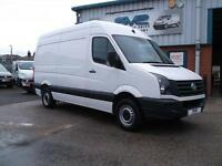 2012 62 VOLKSWAGEN CRAFTER CR35 BLUEMOTION STOP/START TDI MWB H/R 109BHP CHOICE