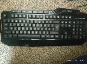 LEXMA LX8000 GAMING KEYBOARD