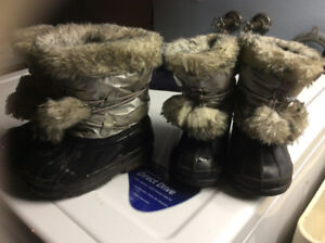 Various winter boots and fall boots for girl under 3yrs