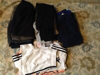 Girls/Boys Bundle of Clothes, Aged 6 to 8 years. Track Suit Bottoms and Shorts and T Shirts. Anorak