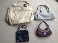 Collection of four handbags/shoulder bags all in Vg/ex condition £25.
