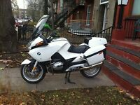 BMW R1200 RT-P 2009 46,500 km ABS, ASC, roule comme neuf $7400