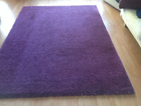 "Carpet Ikea Adum 5' 7"" x 7' 10"" purple"