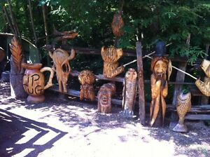 TRADE YOUR 4X4 ATV FOR MY CHAINSAW CARVINGS! Peterborough Peterborough Area image 7